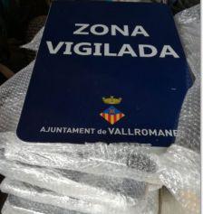 plaques vigilància