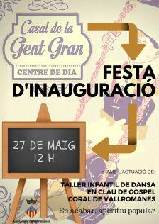 Inauguració Casal de la Gent Gran i Centre de Dia